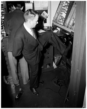 Pasadena Playhouse holdup, 1953