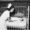 Abandoned babies at General Hospital Juvenile Hall, 1953