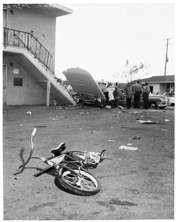 Detail 5 of 7, Compton plane crash, 1960