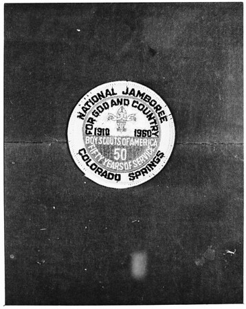 Boy Scouts of America Jamboree, 1960