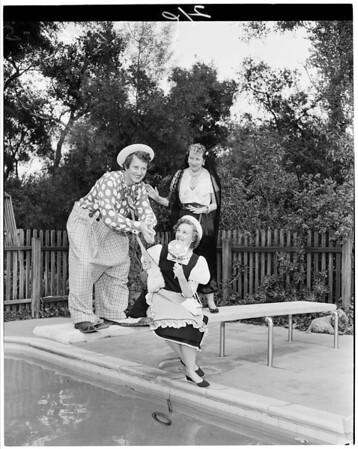 Detail 3 of 3, Circus Time Assistance League of Flintridge, 1955