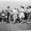 Spring festival at Cowan Avenue School (third graders), 1953