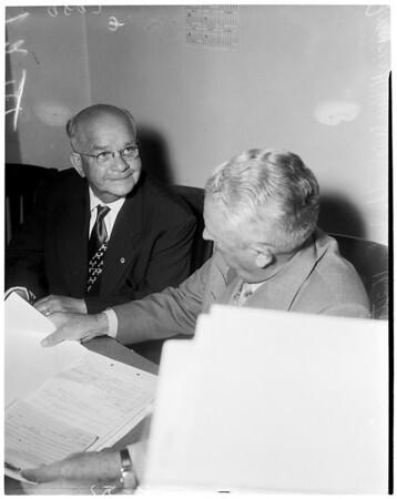 Francis H. Van Wie, 1953