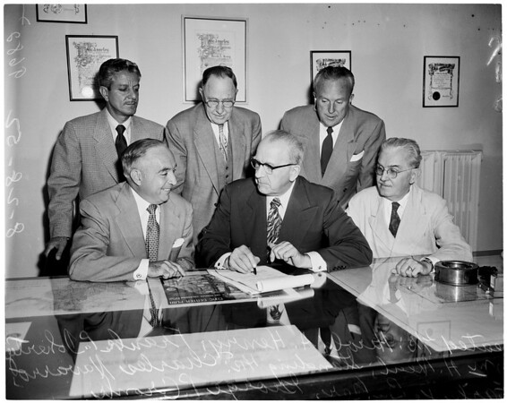 Public Housing -- Council hiring outside attorney, 1952