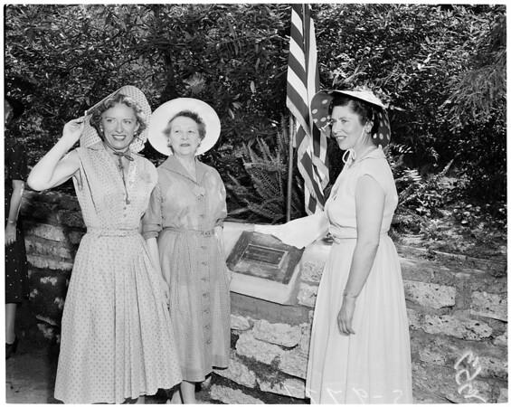 Detail 2  of 2, Los Angeles Soroptimists, 1955