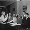 New Cypress Water District Board (Santa Ana), 1953