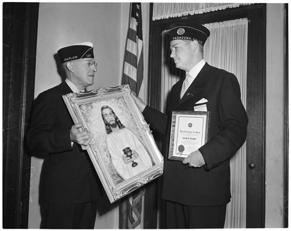 Detail 2 of 2, American Legion caucus, 1953