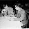 Pasadena City College conference, Pasadena, 1952