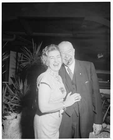 Mr. and Mrs. Charles Coburn, 1960