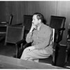 Detail 3 of 5, Kidnap arraignment, 1953
