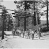Camp for blind children (Big Bear), 1954