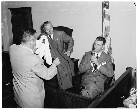 Kidnap inquest, 1954