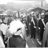 Cardinal McIntyre in San Pedro, 1953