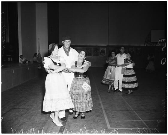 Detail 6 of 6, Folk dances, 1953
