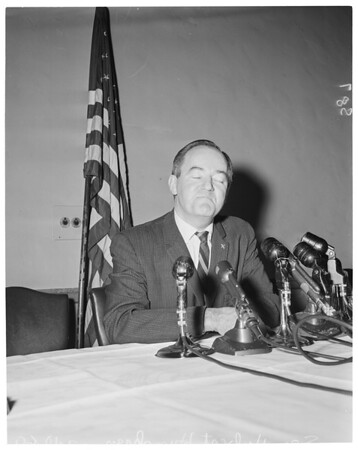 Press conference, 1960