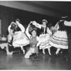 Folk dancers at County Museum, 1953