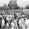 Detail 12 of 18, UCLA victory rally, 1953