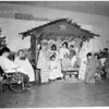 Christmas show at handicapped school, 1953