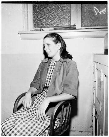 Abortion arrest, 1953
