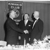 New President of San Pedro's Kiwanis Club, 1954