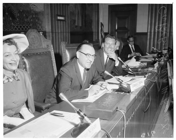 Detail 1 of 3, Gas hearing, 1960
