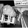 Iron Lung emergency (to Polio stricken community of Bariloche, Southwest of Buenos Aires), 1956