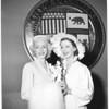 Advertising girl award, 1953