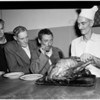 Salvation Army Christmas dinner, 1953