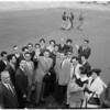 Detail 2 of 3, Iranian Ambassador arrival, 1960