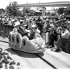 Detail 1 of 4, King and Queen of Thailand at Disneyland, 1960