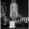 City Hall Lights (Christmas), 1953