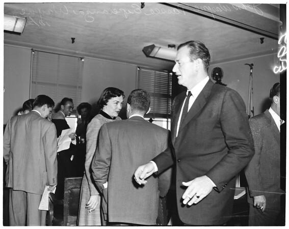 John Wayne case, 1953