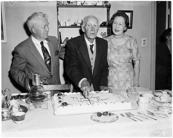 100th birthday, 1959