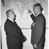 Mexican business men tour Los Angeles, 1953