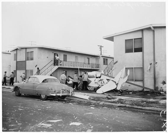 Detail 3 of 7, Compton plane crash, 1960
