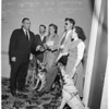 Eye dog graduation luncheon at Statler Hotel, 1953