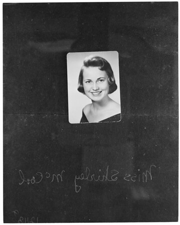 Miss Shirley McCool (copy), 1957