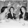 Detail 4 of 4, American Women's Voluntary Services luncheon, 1955