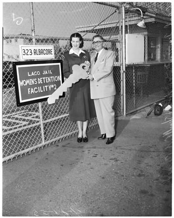 Detail 1 of 5, New women's jail, Terminal Island, 1953