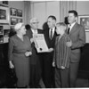 Griggers honored, 1959