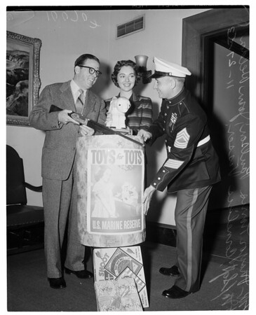 Toys for Tots (U.S. Marine Reserve), 1953