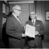 Treasury Award to the Examiner, 1960