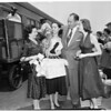 Detail 2 of 2, Arrival of New York Ballet Company, 1953