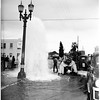 Auto vs. fire hydrant (23rd and Hill), 1951
