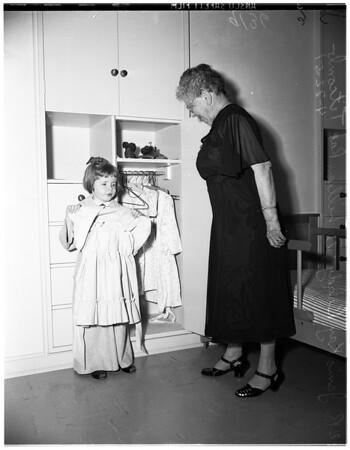 Nursery school for visually handicapped, 1951