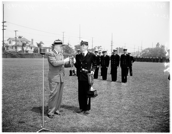 Naval ROTC at University of Southern California, 1951