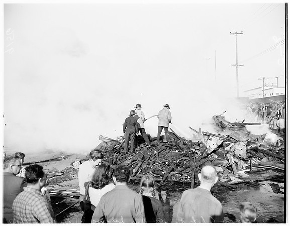 Fire (Rayco Furniture Company at 6136 South Street, Andrew's Place), 1951