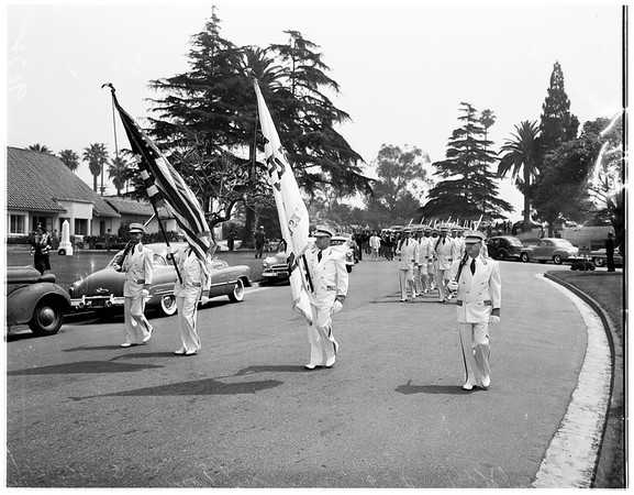 Inglewood Park Memorial Day services, 1951