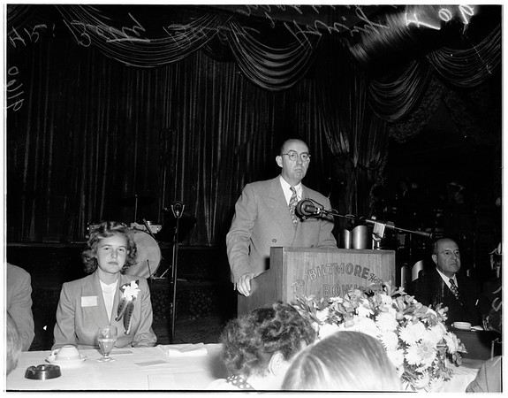 4th annual career commencement at Biltmore, 1951