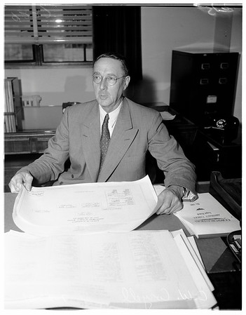 New Public Works Commissioner, 1951
